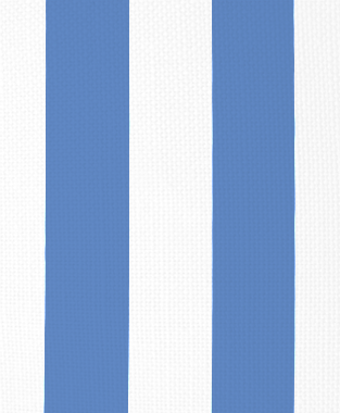 Tillett Textiles Vertical Stripe Blue Lapis