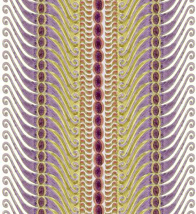 Ferran Textiles Corfu Aubergine
