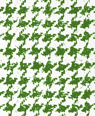 Tillett Textiles Houndstooth Forest Green