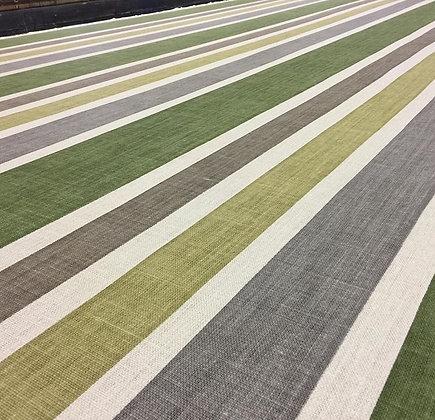 Tillett Textiles Mount Washington Stripe Greens