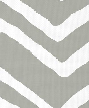 Tillett Textiles Ikat Chevron Sea Haze