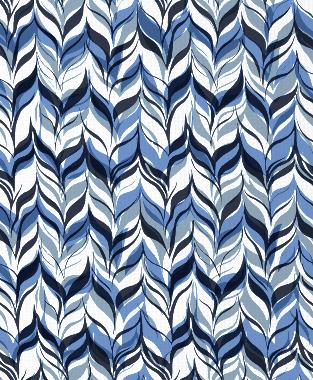 Tillett Textiles Watermarks JD Blue, Blue Lapis & Navy