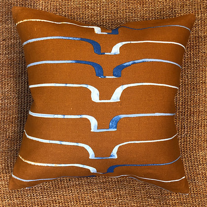 Caryn Cramer Tan Cushion