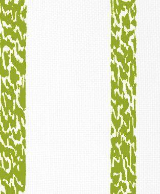 Tillett Textiles Ocelot Stripe Dark Lime