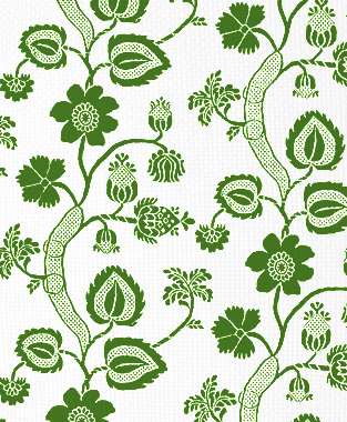 Tillett Textiles Windemere Forest Green