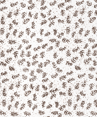 Tillett Textiles Twigs Cocoa