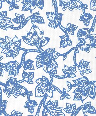Tillett Textiles Sumatra Blue Lapis