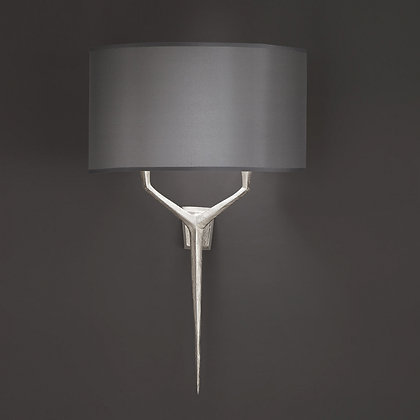 Alix wall lamp Nickle