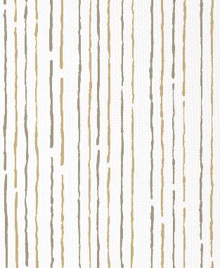 Tillett Textiles Sumac Lines Khaki & Putty