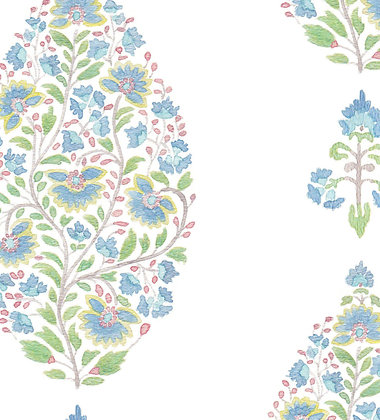 Ferran Textiles Palampore Delft