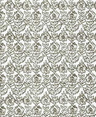 Tillett Textiles Sunflower Woodcut Acacia