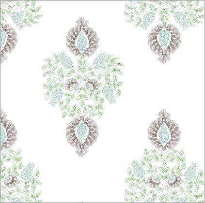 Ferran Textiles Wallpaper Argos Pebble