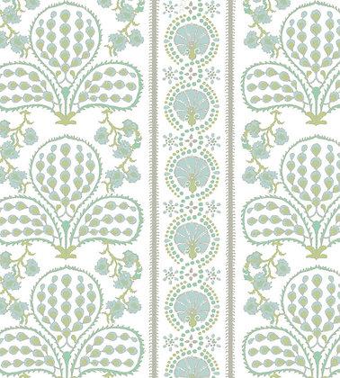 Ferran Textiles Ottoman Peridot