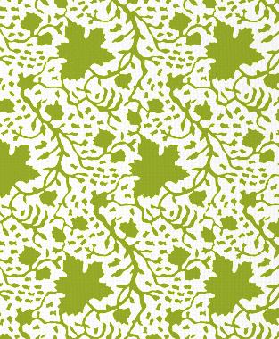 Tillett Textiles Seagrapes Dark Lime