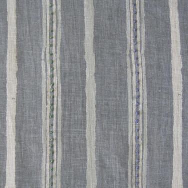 Dabu Stripe Ash Grey