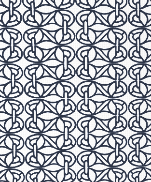 Newmans Window Navy on White