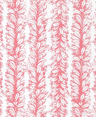 Tillett Textiles Leaves a Scrollin Sorbet