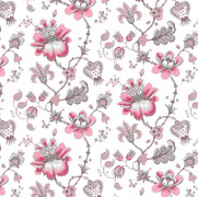Francis Floral Raspberry
