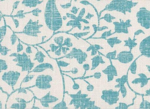 Mally Skok Rohet Solid Textured Turquoise