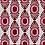 Thumbnail: IKAT MINI Berry Oyster Linen