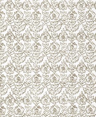 Tillett Textiles Sunflower Woodcut Putty