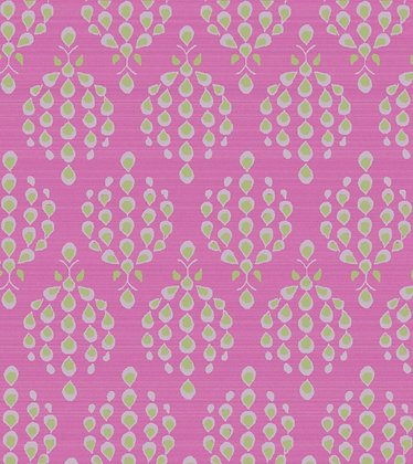 Ferran Textiles Bursa Willow Fuchsia