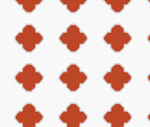 Behl Designs Alhambra Rust Orange