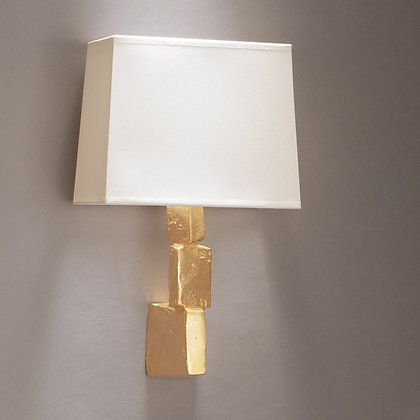 Fragile wall lamp Gold