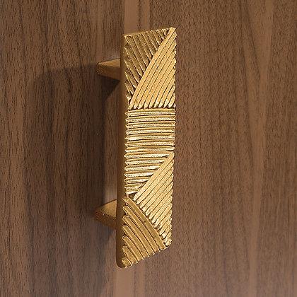 Poignée de tirage Écaille Gold