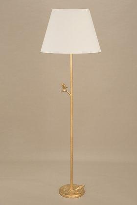 Gold Floor Lamp Plume