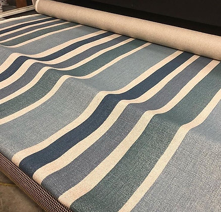 Tillett Textiles Mount Washington Stripe Teals