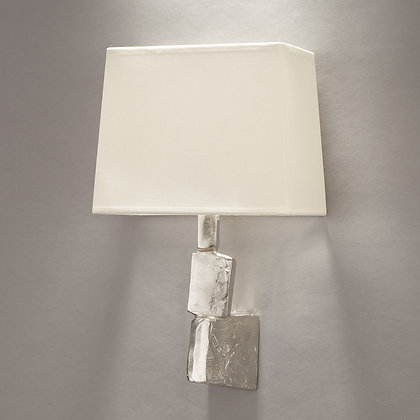 Fragile wall lamp Nickle