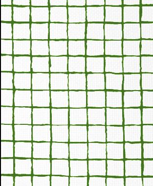 Tillett Textiles Grid Alert Forest Green