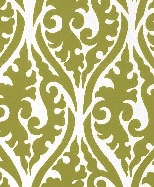Tillett Textiles Palazzo Forest Moss