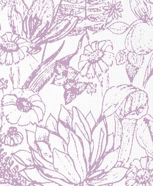 Tillett Textiles Port Manteau Violet