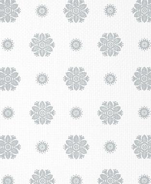 Tillett Textiles Florette Metallic Silver