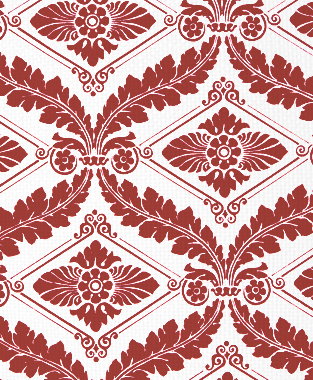 Tillett Textiles Sheffield Deep Coral