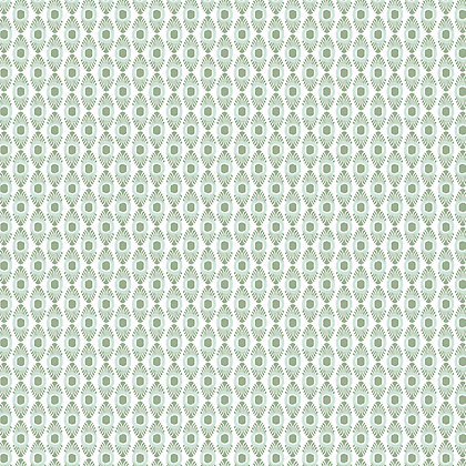 IKAT MICRO Apple & Aqua UK Natural Linen