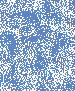 Tillett Textiles Paisley Patch Blue Lapis