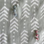 Jiva Moss Green Embroidery