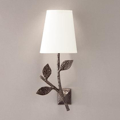 Flora simple wall lamp Bronze