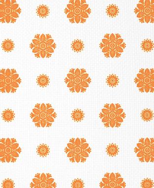 Tillett Textiles Florette Carrot