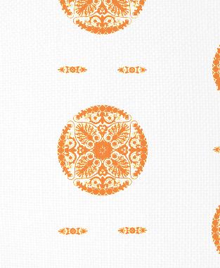 Tillett Textiles Medallion Carrot