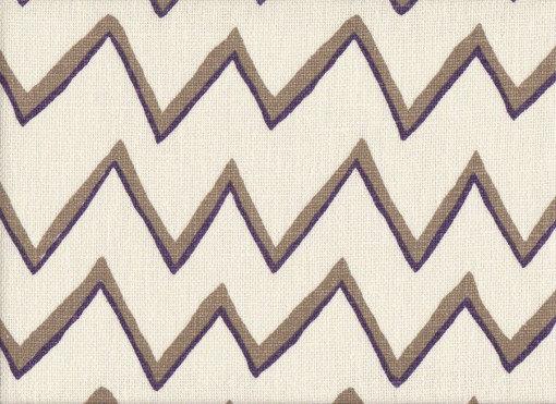 Mally Skok Zig Zag Taupe - Violet