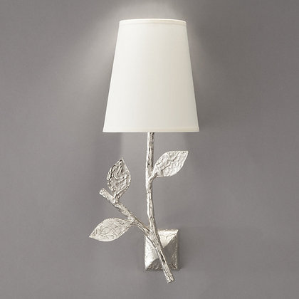 Flora simple wall lamp Nickle