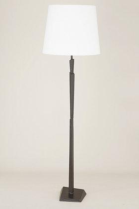 Bronze Floor Lamp Cubist