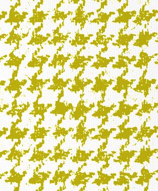 Tillett Textiles Houndstooth Charteuse