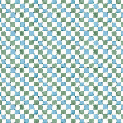 Checkers Blue Green