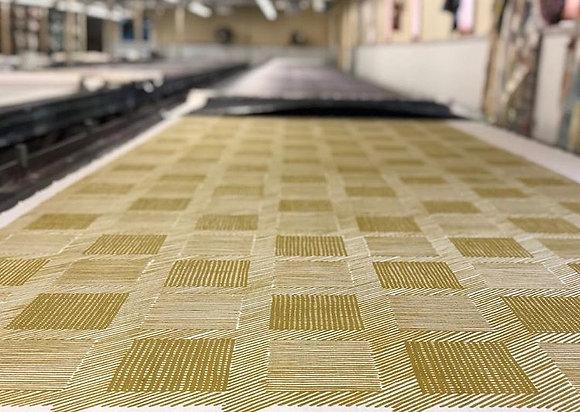 Tillett Textiles T Squares Chartreuse