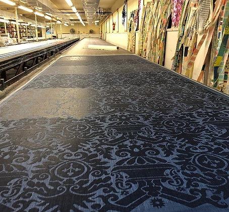 Tillett Textiles Deauville Tone on Tone Navy